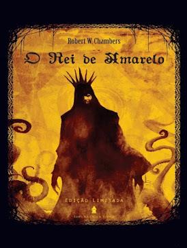 Capa da obra O Rei de Amarelo, de Robert Chambers, pdf