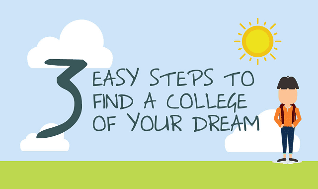 3 Easy Steps Find A College Of Your Dream