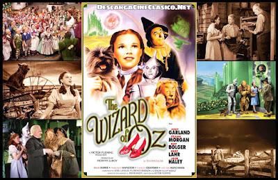 Cartel + capturas: El Mago de Oz (1939)