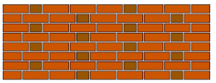 Garden wall  Brick Bonds