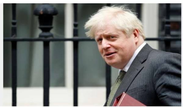 "Boris Johnson says the ""Eat out"" drive COVID-19 spread cowardice in the United Kingdom."