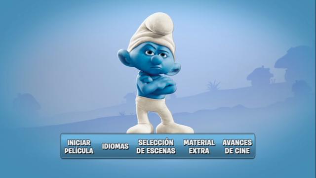 Los Pitufos [The Smurfs] 2011 DVDR Menu Full Español Latino ISO NTSC Descargar