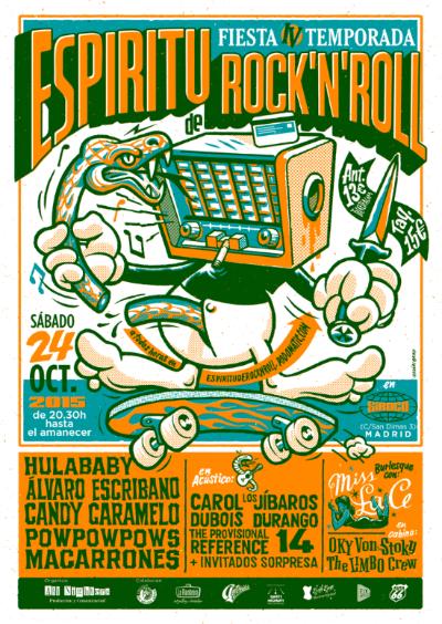 Fiesta de Espíritu de Rock 'N' Roll