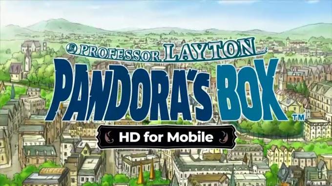 Layton Pandora's Box HD APK Android 1.0.1