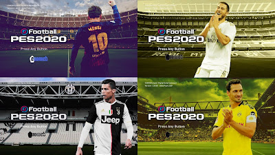 PES 2020 Start Screens Pack by MFZ69