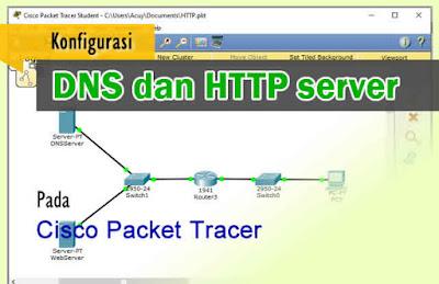 Cara Konfigurasi DNS dan Web Server di Cisco Packet Tracer