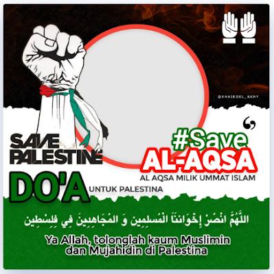Twibbon Save Masjid al-Aqsa 2021