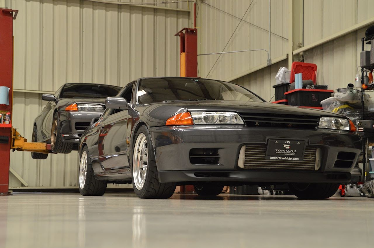 Nissan Skyline GT-R : R32 Headlight Differences, and Other Light