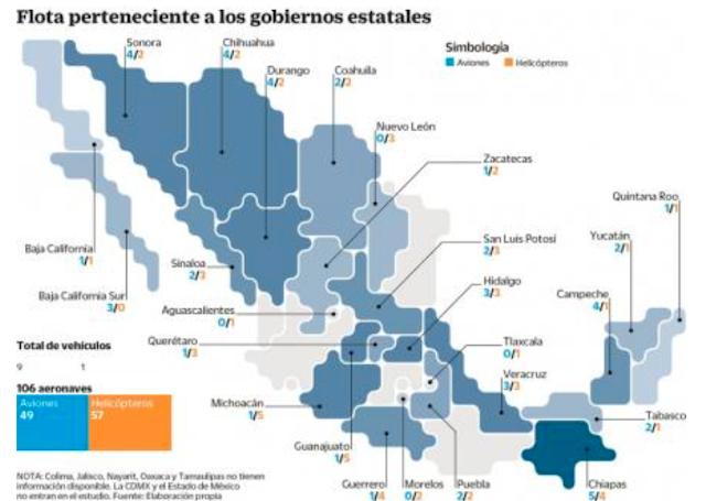 """GOBERNADORES """"GASTAN MILLONADA"""" en FLOTAS AÉREAS. TAMAULIPAS """"NO QUISO INFORMAR"""" la SUYA..Cabeza de Vaca usa helicópteros par Screen%2BShot%2B2018-09-16%2Bat%2B05.48.48"""
