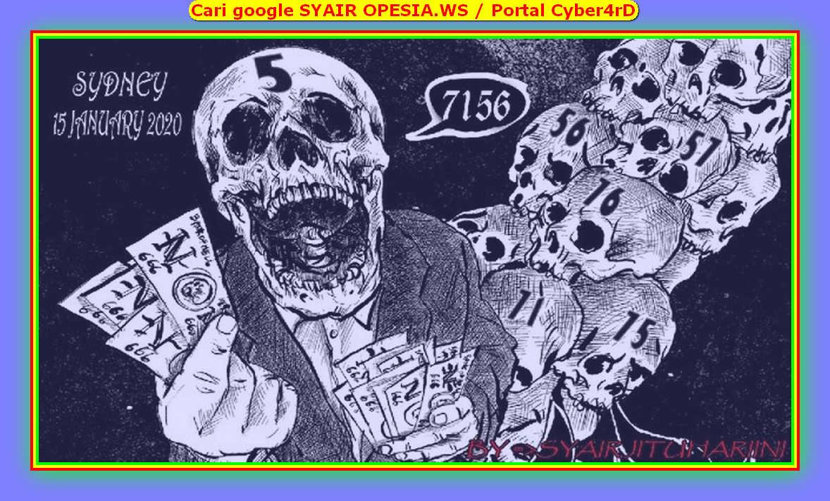 Kode syair Sydney Rabu 15 Januari 2020 135