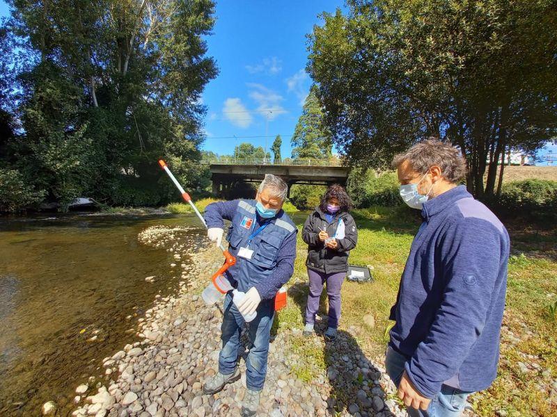 Fiscalización intersectorial del Río Damas de Osorno
