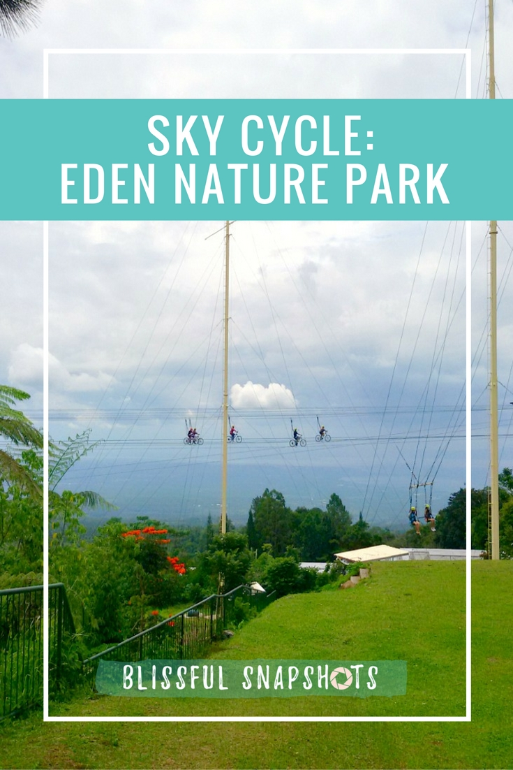 Sky Cycle at Davao Eden Nature Park & Resort