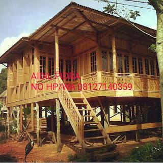 jual rumah kayu tahan gempa