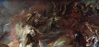 Death on the pale horse by Benjamin West