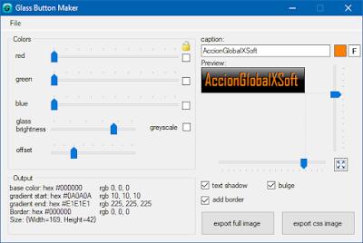 Generador de botones para web o aplicaciones portable