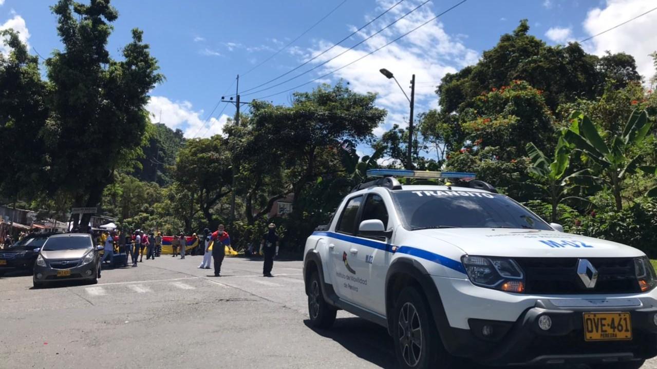 Instituto de Movilidad acompañó las manifestaciones del 20 de julio y garantizó el libre desplazamiento