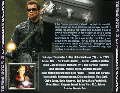 Terminator 3 - La rebelión de las máquinas - [2003]