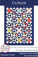 Outlook Quilt Pattern by Myra Barnes of Busy Hands Quilts