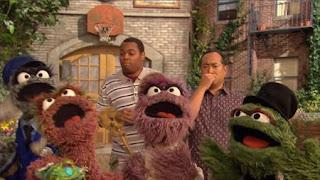 Alan, Chris, Oscar the Grouch, Grouches, Sesame Street Episode 4324 Trashgiving Day season 43