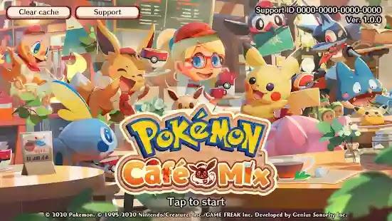 Pokémon Café Mix هي لعبة ألغاز فريدة حيث أصبح اللاعب الآن صاحب مقهى يقدم وجبات لذيذة لبوكيمون.
