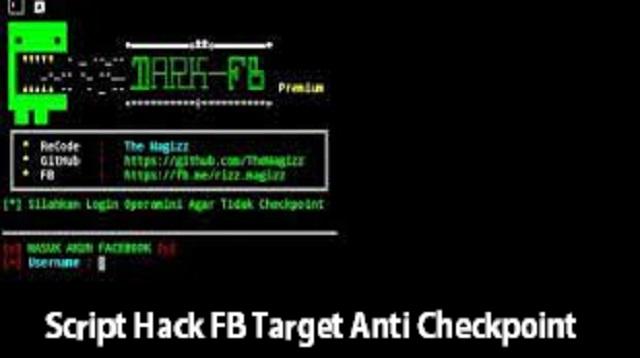 Script Hack FB Target Anti Checkpoint
