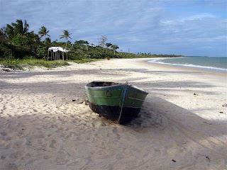 bote pescadores Corumbau