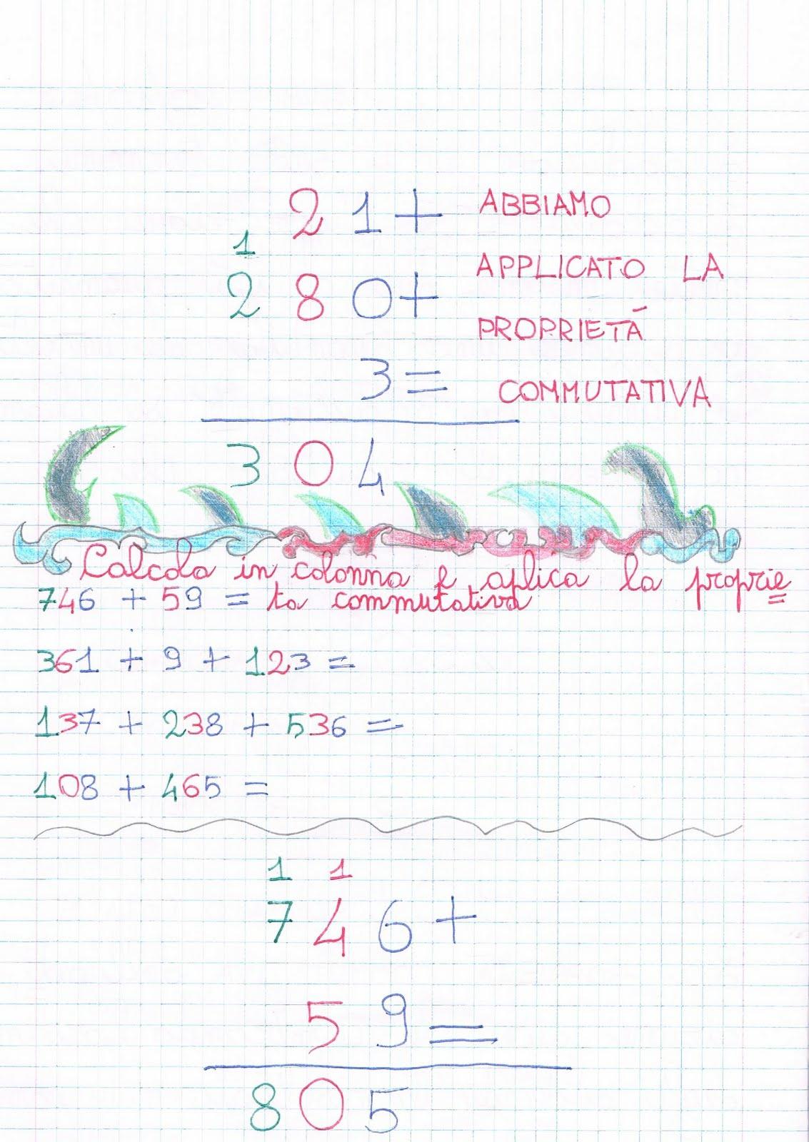 Matematica Classe Terza Primaria Primi Giorni Di Scuola