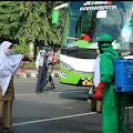 Kepulangan Santriwati Gontor Di Purbalingga Disambut Sesuai SOP Covid-19