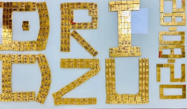 पुलिस ने पकड़ा सीने पर बांधकर ले जा रहे थे 43 करोड़ रुपए के 504 सोने के बिस्कुट