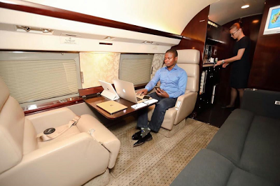 Photos: Inside Malawian pastor, Prophet Bushiri's private jets