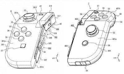 Nintendo regista patente para Joy-Cons dobráveis