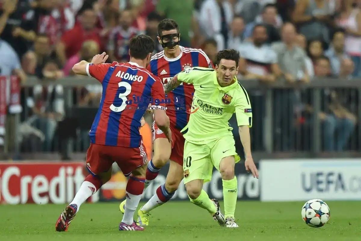 نتيجة مباراة برشلونة وبايرن ميوخ اليوم دوري ابطال اوروبا
