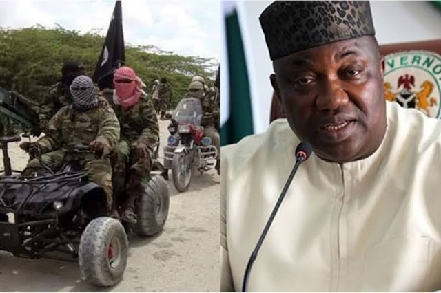 Fulani Bandits Have Formed A group, All States Governors Should Emulate Gov. Ugwuanyi's New Tactics Of Tackling Banditry