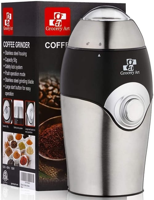 Grocery Art Coffee Grinder Electric