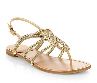 Dressy Flat Sandals For Wedding