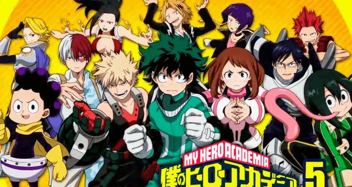 La fecha de lanzamiento de la Temporada 5 de My Hero Academia será un día en el que los fanáticos del anime correrán a sus pantallas de TV a la velocidad máxima
