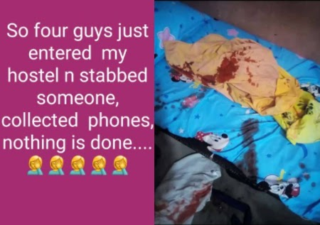Just In: 4 Gunmen Gain Entrance Into UNIUYO Female Hostel Today And Stab A Student (Video)