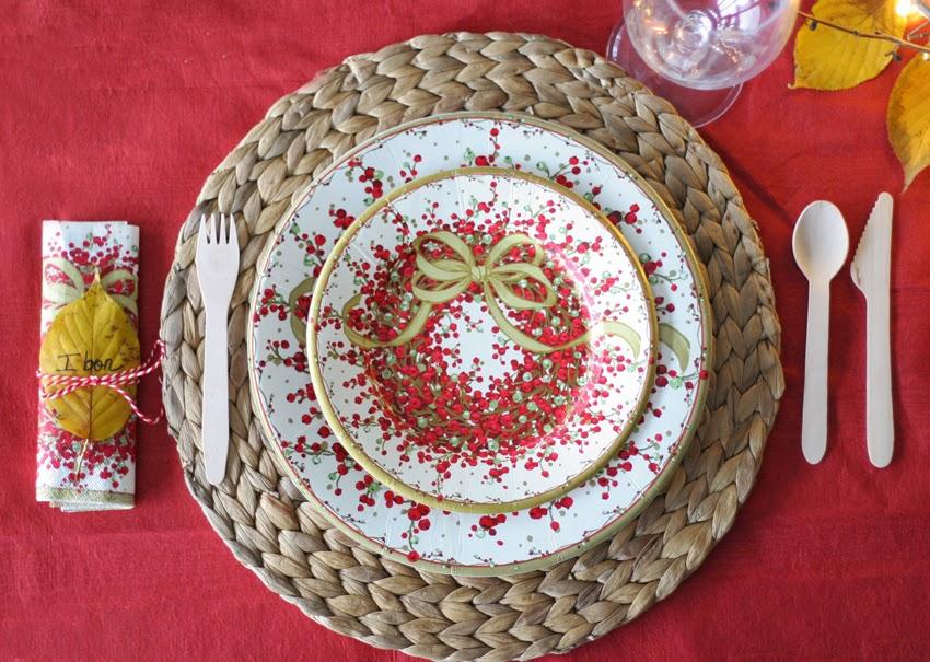 Mesa navideña de cartón con Elegance Party - Decorar en familia10