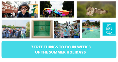 7 FREE Things to Do in Week Three of the Summer Holidays