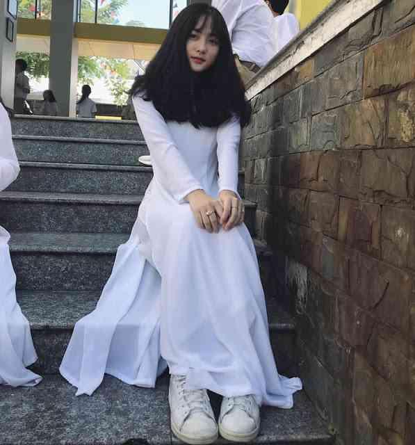 áo dài học sinh