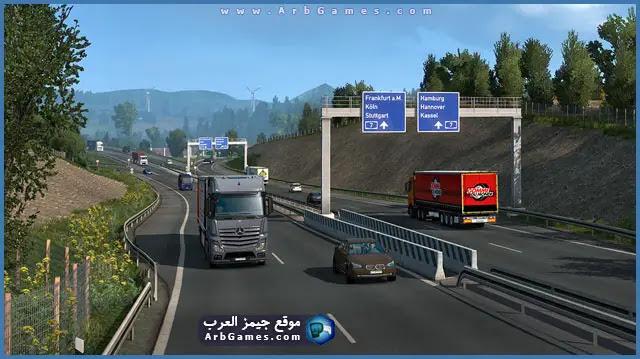 تحميل لعبة الشاحنات Download Euro Truck Simulator 2 للكمبيوتر برابط مباشر