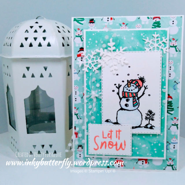 Nigezza Creates with Stampin' Up! &  Let It Snow and Snowman Season