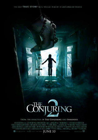 Poster of The Conjuring 2 2016 BRRip 1080p Dual Audio In Hindi English