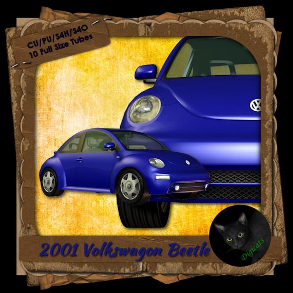 2001 Volkswagen Beetle - Blue