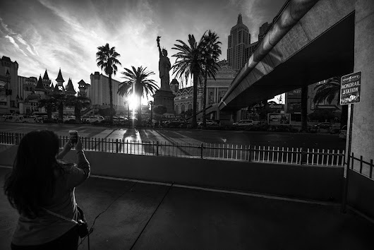 LV Blvd for Delta Airlines by Las Vegas Commercial Photographer