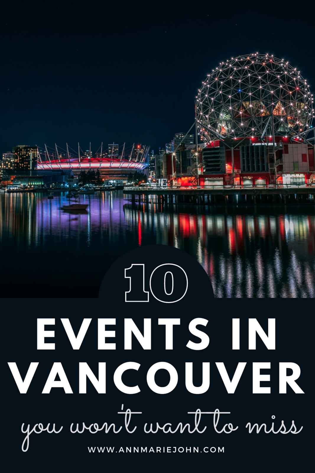 Top 10 Annual Events in Vancouver You Won't Want to Miss