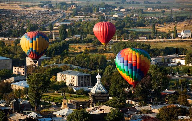 Armenia celebró en Gyumri el día de la independencia