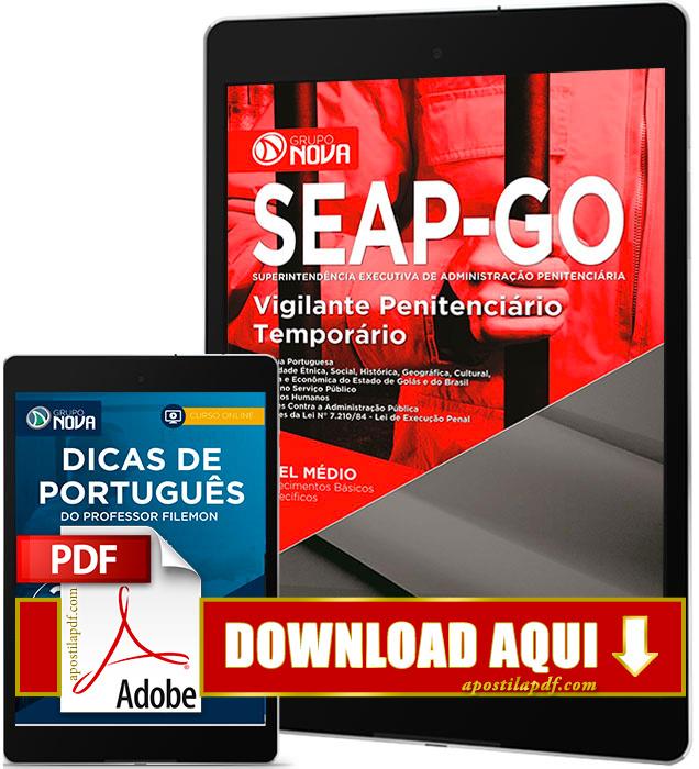Apostila SEAP GO 2016 PDF Download Vigilante Penitenciário