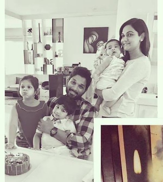 Allu Arjun Family Photos