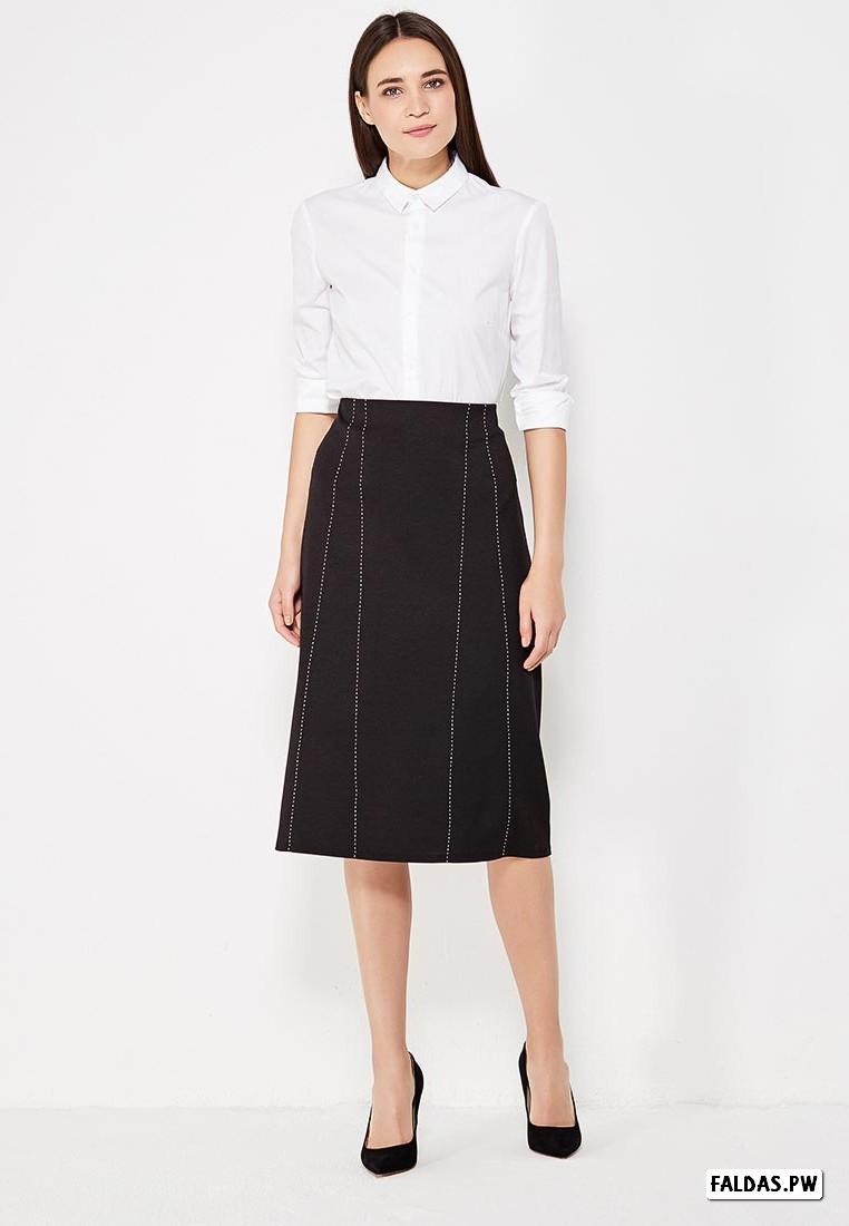 670ddec7c Faldas Color Negro ¡25 Nuevas Ideas de Como Vestir!